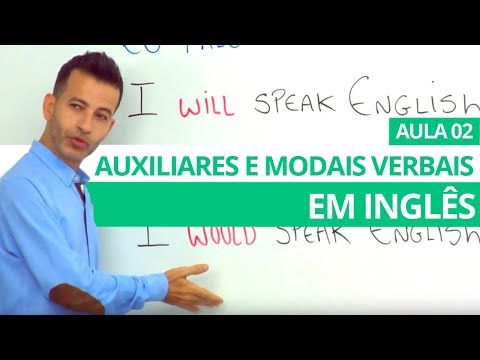 AUXILIARES, MODAIS VERBAIS EM INGLÊS - AULA 02 PROFESSOR KENNY