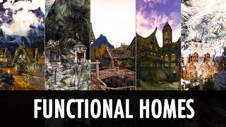 Skyrim Mod: Functional Homes