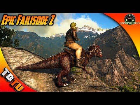 EPIC FAILISODE! PACHY TAMING! JIMBOB DIES! Ark Survival Ragnarok Map Gameplay - Gaming Evolved