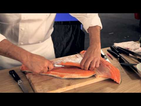Martin Baudrexel - Einen ganzen Fisch filetieren