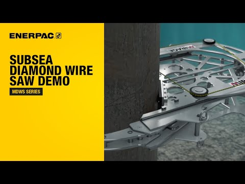 Diamond Wire Saws | ROV Tooling | Subsea Tooling | Mirage Subsea