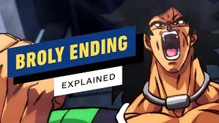 Dragon Ball Super: Broly Ending Explained