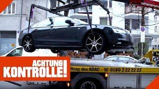 Audi wird abgeschleppt: Passanten mischen sich ein! | Achtung Kontrolle | kabel eins
