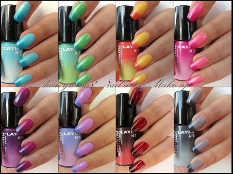 Swatch Thermo Polish by Layla Cosmetics