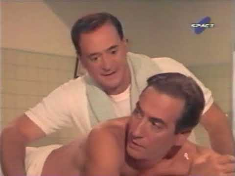 Marzolini protagonizando un film (1967)