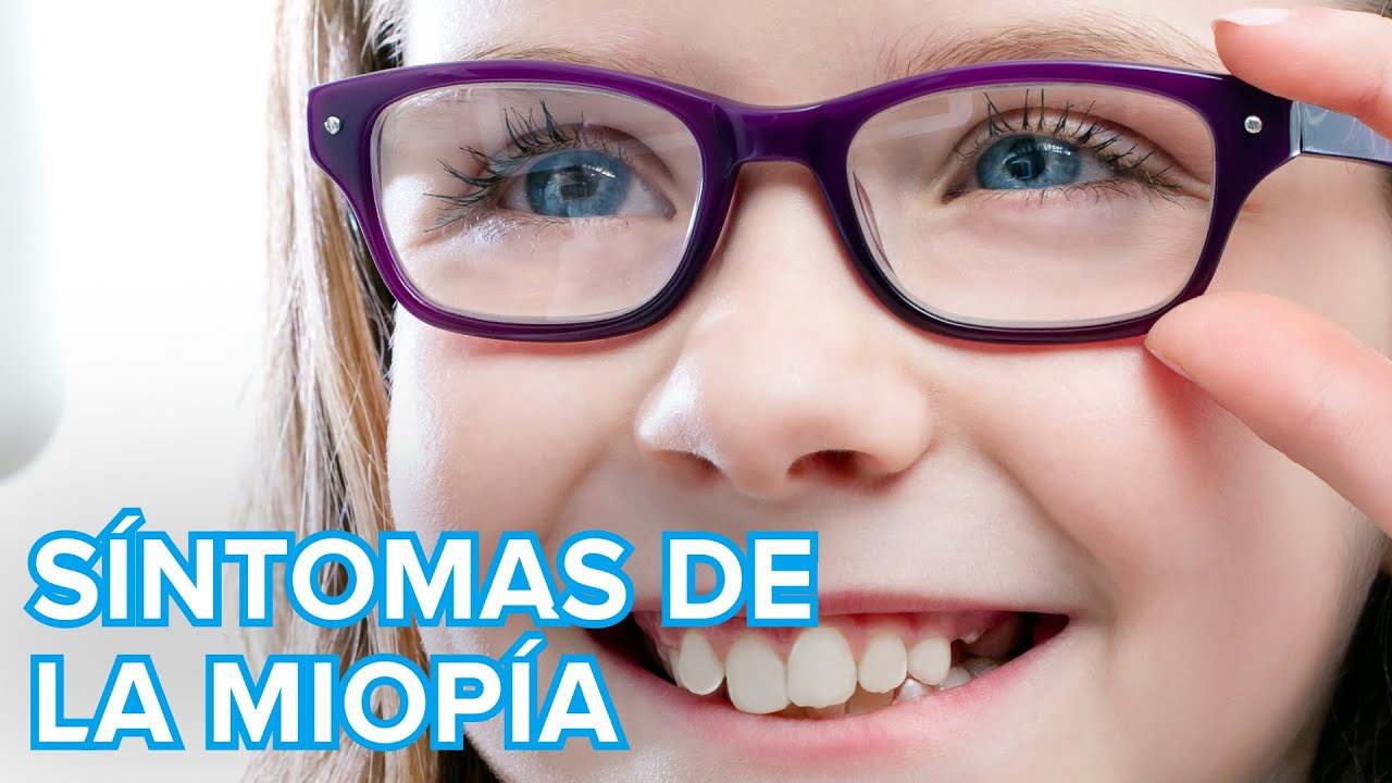 Síntomas de la miopía en los niños