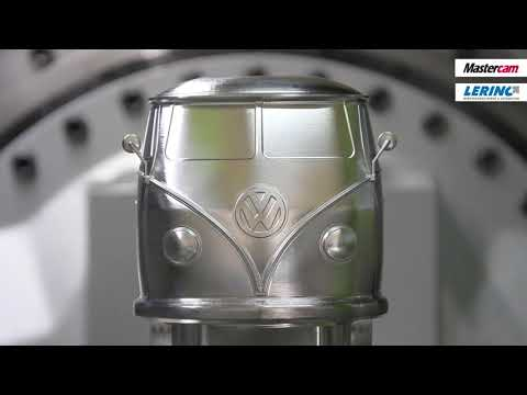 Mastercam 2021 | VW-Bus auf einer PRO.FLEX6 5-Achsen-Fräsmaschine