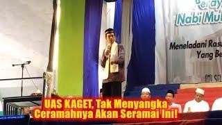 UAS KAGET, Tak Menyangka Ceramahnya Akan Seramai Ini! Tabligh Akbar Ustadz Abdul Somad Di Aceh Besar