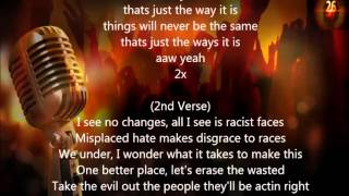 2Pac - Thats Just The Way It Is (Lyrics)
