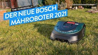 Der neue Bosch Mähroboter 2021 - Bosch Indego S+500