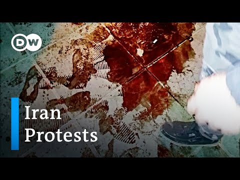 Did Iranian security forces shoot at protesters? | DW News