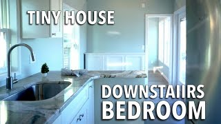 Tiny House w. downstairs bedroom and Murphy Bed   Super Bright & Big Bathroom - THOW