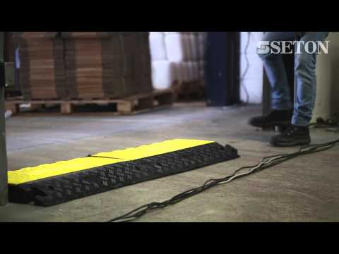 Heavy Duty Anti-trip Rubber Cable Protector| Seton UK