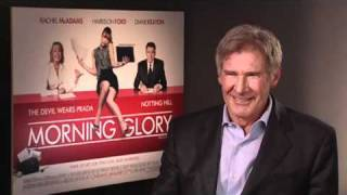 Harrison Ford talks Morning Glory
