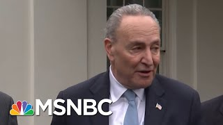 President Trump On Federal Workers Going Without Pay: They Want A Wall | The 11th Hour | MSNBC