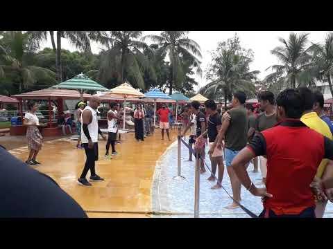 Aquatica kolkata 2018    Dance video aquatica    Enjoy Rides    aquatica Girls