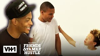 Best of The Harris Kids Learning a New Hustle | T.I. & Tiny: Friends & Family Hustle