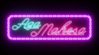 Jasa bikin Animasi Neon Sign Glow, pengerjaan kurang dari 24 jam