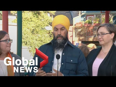 Canada election: NDP's Jagmeet Singh to make campaign housing announcement