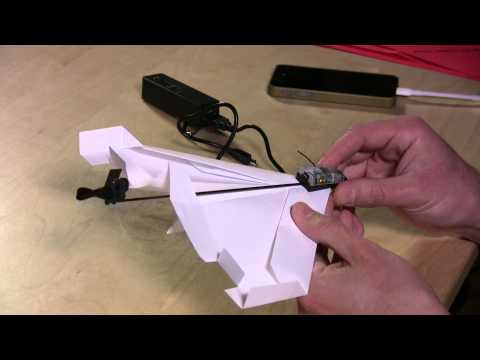 Powerup 3.0 Review – Fly a Paper Airplane with iPhone or Android Smartphone Control