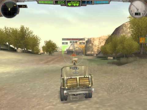 Прохождение игры Hard Truck Apocalypse (Ex machina) Часть 1