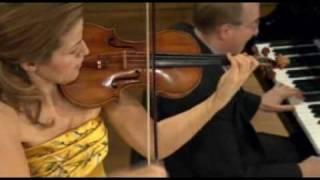 Anne-Sophie Mutter Mozart Violin & Piano Sonata No. 28 in E flat major K380 I.-Allegro