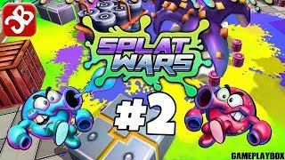 Splat Wars (Multiplayer) - iOS/Android - Gameplay Video Part 2