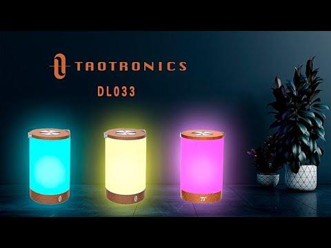 Review Đèn Ngủ Đổi Màu TAOTRONICS TT-DL033  Đây là chiếc đèn đổi màu theo Tâm Trạng, có hẳn 256 màu?