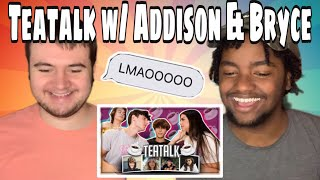 Josh Richards 'Addison Rae Comes On #TeaTalk Jaden Hossler & Mads Lewis Dating Rumours?!' REACTION