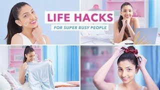 Hacks For Super Busy People | Skin & Hair Tricks And Tips
