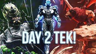 How we Unlocked TEK on Day 2! - ARK Survival Evolved