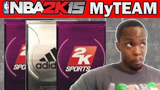 NBA 2K15 MyTeam Pack Opening - SWITCHING IT UP - NBA 2K15 MyTeam Packs