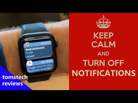 How To Stop Notifications On Apple Watch