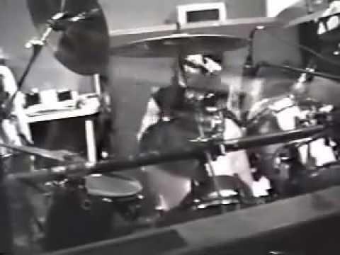 Recording session  drum solo