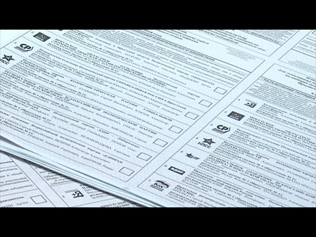 В Приангарье напечатали почти 4 миллиона бюллетеней