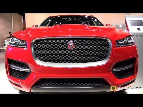 2016 Jaguar F-Pace 2.0d AWD - Exterior, Interior Walkaround - Debut at 2015 Frankfurt Motor Show