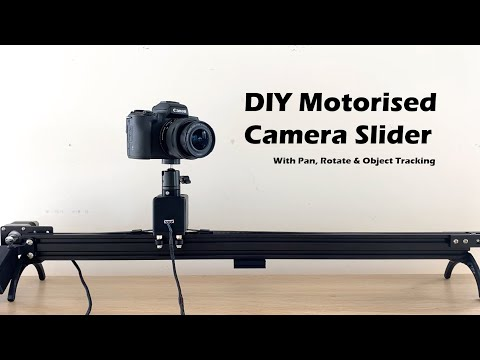 Motorised Pan And Rotate Camera Slider