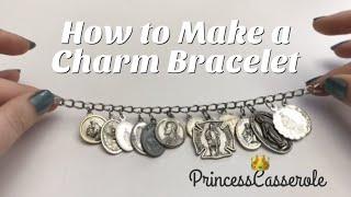 How To Make A Patron Saint Medal Charm Bracelet | DIY Charm Bracelet (2018)