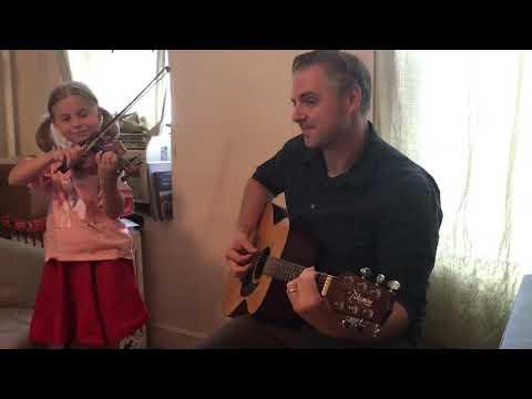 Anna plays with her Dad Jingle Bells 80/29/2020 Art House Astoria Virtual Recital
