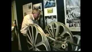 HTWWW Cinerama intermission, John Harvey threads 3 projectors & sound!