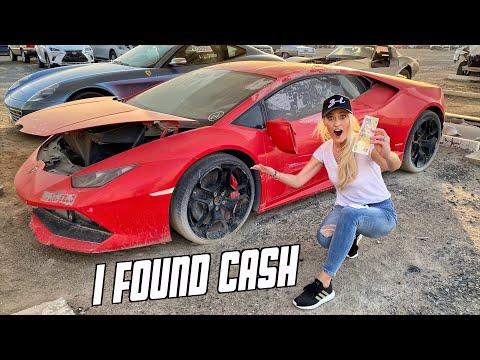 """Hotgirl siêu xe ghé thăm nghĩa địa ô tô ở Dubai, ngỡ ngàng vì những """"tuyệt phẩm"""" lành lặn bị vứt bỏ"""