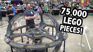 Huge LEGO Star Trek Deep Space Nine | Brickworld Chicago 2019