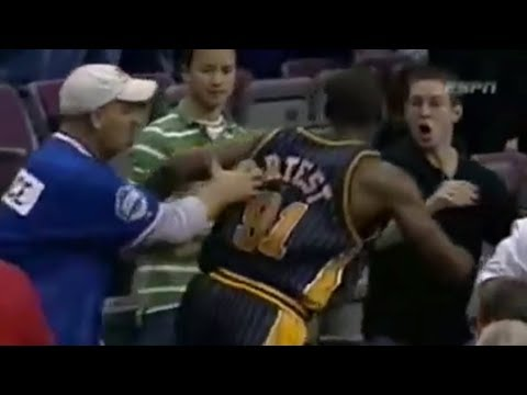 Sports Players Fighting with Fans Compilation