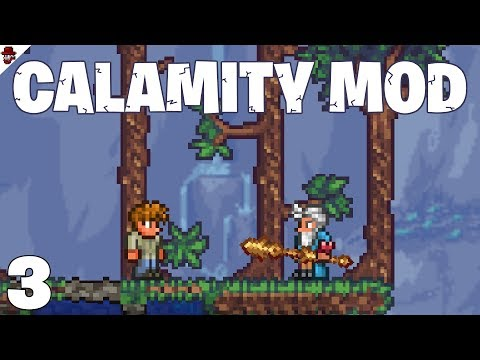 Terraria # 3 the secret biome! - Calamity Mod Let's Play
