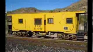 preview picture of video 'FXE 100090 Caboose en las vias de Magdalena de Kino. Son.'
