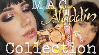 MAC ALADDIN COLLECTION | Review Swatches + Tutorial