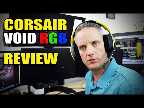 Corsair VOID RGB Gaming Headset - Review and Mic Test