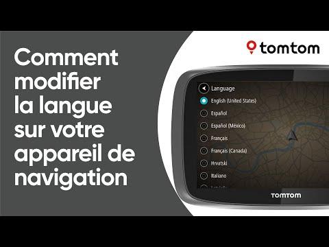 Comment modifier la langue sur votre appareil de navigation
