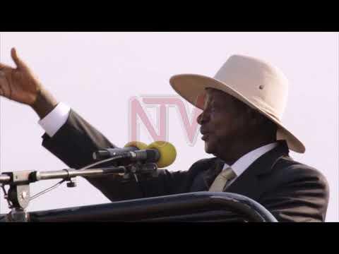MUSEVENI E NAKASEKE: Awagidde munisipaali ye Semuto- Kapeeka
