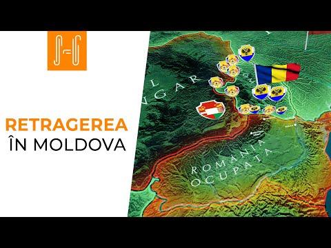 Retragerea în Moldova